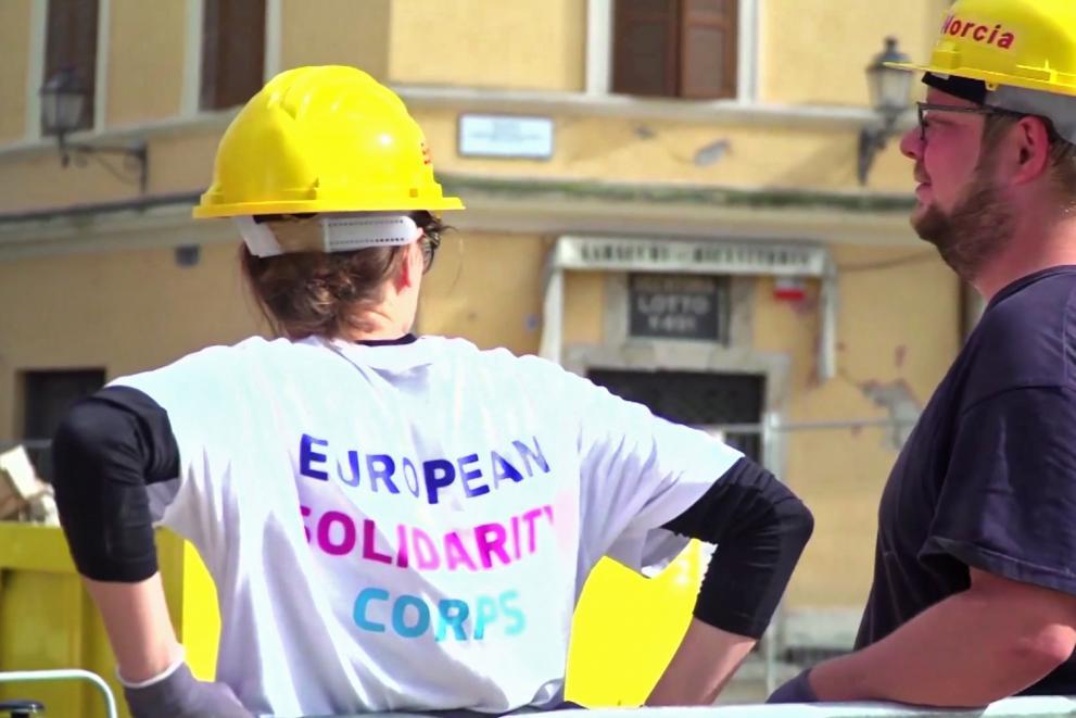 Europäisches Solidaritätskorps