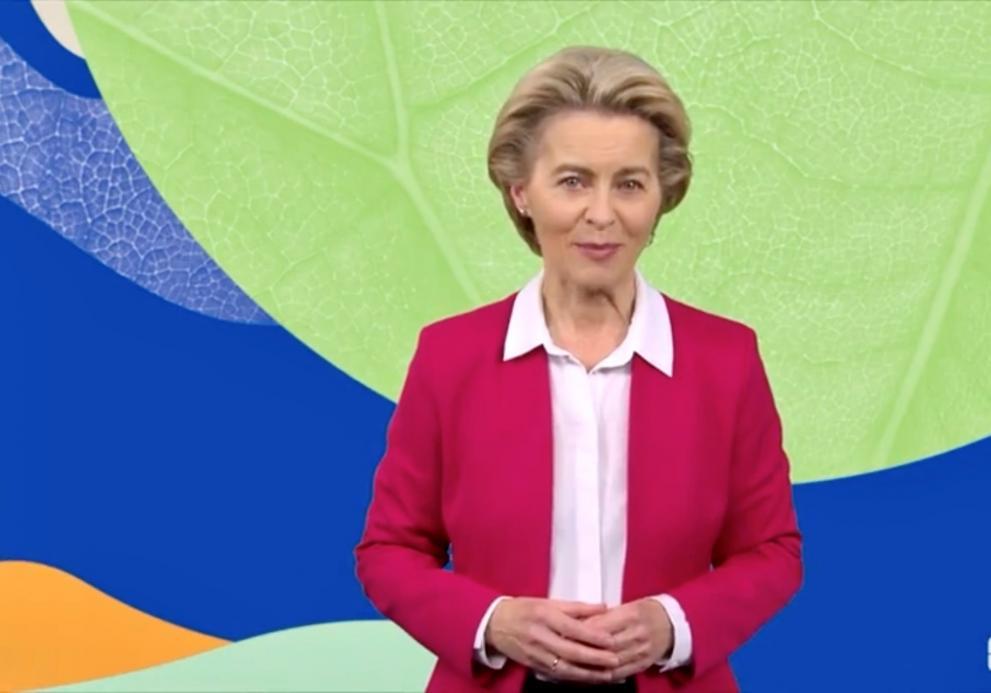 EU-Kommissionspräsidentin von der Leyen_Green Deal